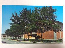 Morton Hall Naval Sub Base New London Groton, Connecticut Chrome Postcard Unused