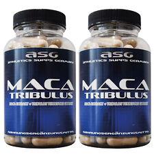 2 Dosen 180 ASG Tribulus 1100 Maca 1400 Testosteron Booster Kapseln