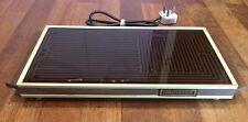 Vintage H-2 Salton Hotray, Automatic Food Warmer Hot Plate w Teak Handles