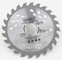 NEW SUNDELY 10 x 115mm Angle Grinder saw blade for wood and plastic 24 TCT Teeth