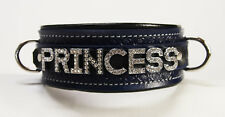Leather Collar choose word/color  Princess