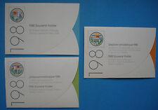 UNO/United Nations: Lot souvenir folder/Jahressammelmappen Genf Wien NY - MNH xx