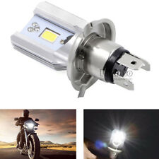 H4 9003 Motorcycle COB CREE LED Hi/Lo Beam Headlight Front Light Bulb Lamp 20W