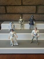 Star Wars Action Figures 1995-2007 KENNER - Misc Lot of 5 figures