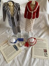 Princess Diana Royal Wardrobe Red White Dotted Navy Blue Stripped Suits