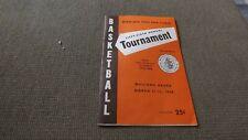 Minnesota State High School Boys  Basketball Tournament 1968 Program