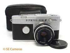Olympus PEN FT 35mm metà telaio Fotocamera & D ZUIKO 38mm f2.8 lens & Custodia