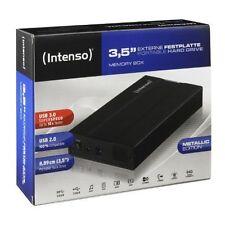 "Externes 3,5"" Festplattengehäuse ALU Aluminium Gehäuse HDD extern USB 3.0 NEU"