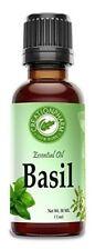 Basil Essential Oil 30ml (1 oz) - Basil Oil 100% Pure- Albahaca Aceite Esencial