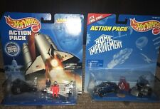 Hot Wheels Action Pack Home Improvement & John Glenn Space Shuttle NIP