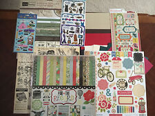 HERITAGE Vintage 1920 1950 1970 1980 12x12 Papers Stickers ABCs Scrapbook kit