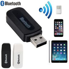 Mini USB Wireless Bluetooth 3.5mm Aux Stereo Audio Car Receiver Adapter black ES