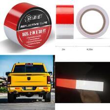 Heavy Duty Reflector Tape Waterproof Car Trailer Safety Warning Lights White Red