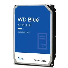 4 TB Western Digital 4000 GB interne Festplatte 3,5 Zoll SATA 3 WD40EZAZ WD Blue