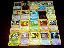 ლ Lot de 20 Cartes PROMO POKEMON (ENTEI CELEBI etc.
