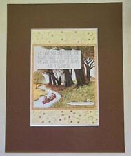 "Mary Engelbreit Print Matted 8 x 10 ""We Have Not Inherited the Earth"""