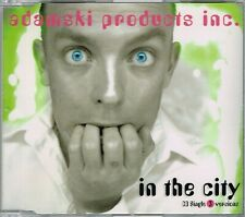 ADAMSKI PRODUCTS INC. - In the city -CDM- 1999 - CD MAXI - ITALY House