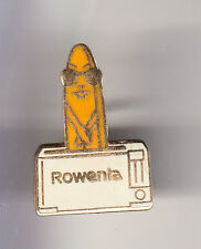 RARE PINS PIN'S .. ENTREPRISE ELECTROMENAGER CUISINE GRILLE PAIN ROWENTA ~CK