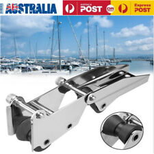 Bow Roller 316Stainless Steel Boat Hinged Bow Spirit Anchor Roller Quick Release