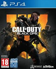 Call Of Duty Black Ops IIII 4 & Free Calling Card + 2h Of 2XP DLC PS4 *NEW* prcd