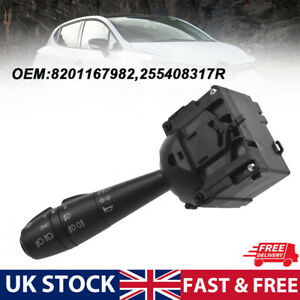 For Dacia Sandero on Headlight Switch with Horn and Rear Fog Light 255408317R UK