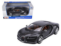 Bugatti Chiron Grey 1:24 Diecast Model - Maisto 31514GRY *