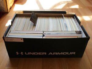 Karton ca. 1000 AK´s aus DEUTSCHLAND Nachwendekarten Frankiert + Unfrankiert 030