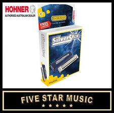 Hohner Silver Star Harmonica 'C' Key - NEW!!! 504C Harp 504