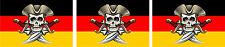 MINI Aufkleber Pirat Skull Totenkopf Motorrad Fahrrad Bike Motorrad car Sticker