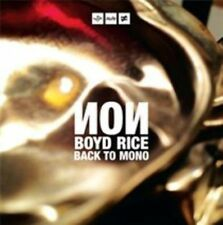 Back to Mono Non / Boyd Rice CD 5099931960021