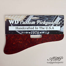 Pickguard pr Gibson ES-125T 1xP90 Dog Hear 56-69 Tortoise/MintGreen WD EST-7605