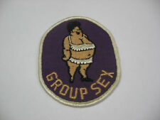 GROUP S**.. Embroidered Harley Biker Patch