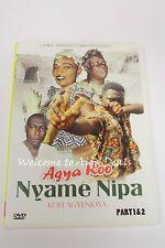 Agya Koo Nyame Nipa Part 1 & 2 DVD (VG)