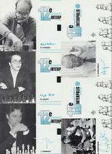 CHESS SPORT 74 Cartes Postales 1970-1990.