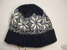 NWT BABY GAP GREEN & WHITE PULL ON WINTER HAT M/L 4-5 Y  Free US Shipping