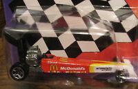 Mcdonald's Racing Team Hot Wheels MATTEL NHRA Cory McClenathan #16201 MIP