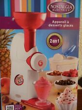 Machine A Glace Mix n Twist L'appareil pour faire des desserts glacés