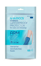 Waterproof Protector for Casts & Dressings- Child Short Arm- Age 4-9- Bloccs