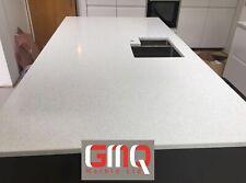 White Mirror Fleck Quartz Kitchen Countertop | Affordable prices | Sample