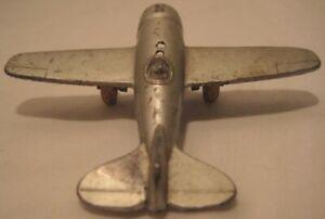 Old Rare Slush Metal Toy Single Engine Airplane