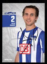 Peter Pekarik Autogrammkarte Hertha BSC Berlin 2012-13 Original Sign+A 105421