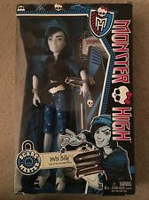 INVISI BILLY Monster High Doll NEW SCAREMESTER NIB