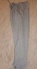 PUMA Gray Heavyweight Cotton Blend Lounge Pants / Sweatpants Men's Medium