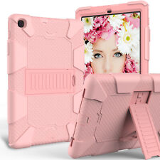 For Samsung Galaxy Tab A 10.1 2019 SM-T510 Shockproof Case Stand Cover Rose Gold