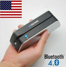 Mobile Phone Bluetooth Credit Card Reader Writer Encoder Magstripe Swipe MSRX6BT