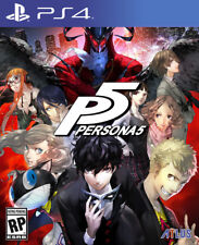 Persona 5 PS4- (Pre-Owned, MINT & Resealed)- Region FREE, NO Tax - Free Ship.
