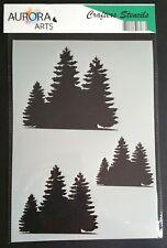 Nuevo NA1.2 árbol Cruz Crow lápida Aerografía plantilla plantilla 240mic claro