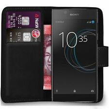 Case Cover For Sony Xperia C4 Magnetic Flip Leather Wallet Phone book Card holdr