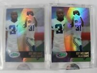 Roy Williams 2002 eTopps #88 Lot of 2 RCs In Hand / Encased Dallas Cowboys