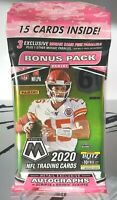 2020 Panini Mosaic NFL Football SEALED CELLO Pack Burrow Herbert Tua? FREE SHIP